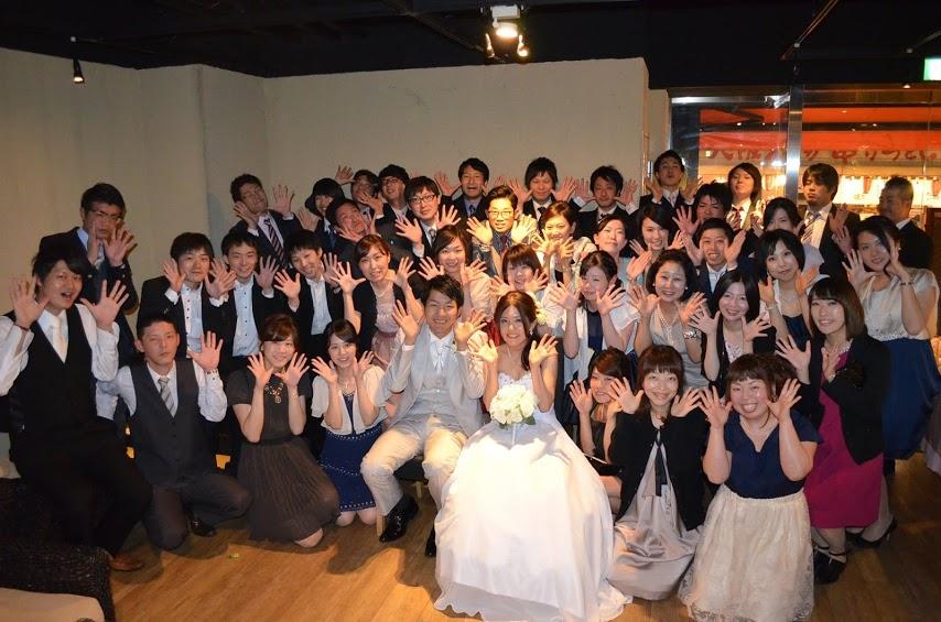 結婚式二次会幹事代行の評判 口コミ 表参道エリア 60名 三鷹様