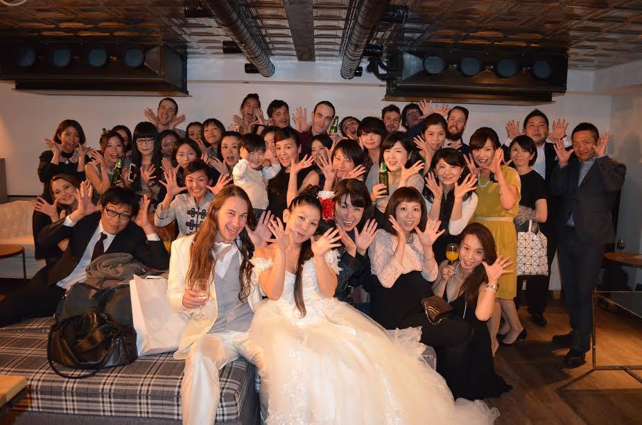 結婚式二次会幹事代行の評判 口コミ エリア表参道 40名