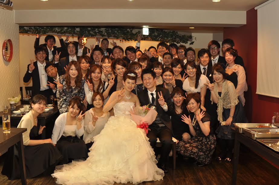 結婚式二次会幹事代行の評判 口コミ エリア表参道 50名 内海様